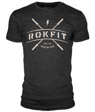 BattleBoxUk.com - RokFit CROSS BARS T-Shirt
