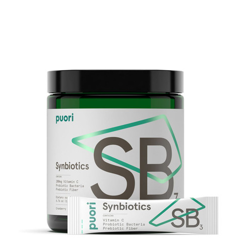PurePharma Synbiotics SB3 Probiotic Prebiotic & Vitamin C. Power Begins Within Pure Pharma - www.BattleBoxuk.com