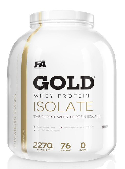 FA ENGINEERED NUTRITION 4GOLD® WHEY PROTEIN ISOLATE