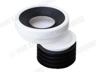 Pan Connector - 40mm Offset - Waste - Plumbing