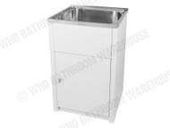 Project - 45SS - White - Laundry - Sink/Trough - 12644