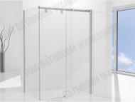 Premier DLX - 1200 Door & 1000 Wall - Semi Frameless - Shower Screen - 12881
