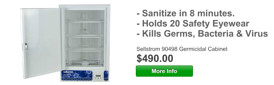 New Germicidal Cabinet. Kills 99.4 of Germs and Virus!