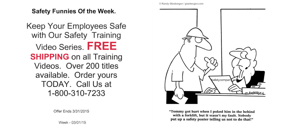 Regular Safety Training and implementation of safety policies can save companies Thousands!