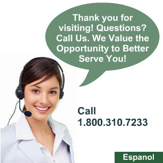 Questions? Give us a call!