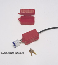 North Safety LP550 E-Safe Electrical Plug Lockout for 220/550 Volts