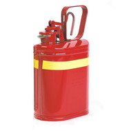1401 1 Gallon Red Laboratory Safety Can Pouring Lip