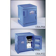 CRA-P04 Poly Acid Corrosive Safety Cabinet 4 Gal Blue