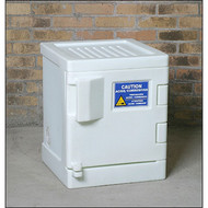 CRA-P04W Poly Acid Corrosive Safety Cabinet 4 Gal White
