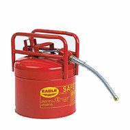 1215SX5 5 Gal Red Galvanized Steel Type II Style Safety Can