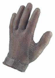 Chainex 52300 Metal Mesh Gloves with Self Adjusting Wrist Strap