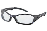 Tribal graphite frame, Clear anti-fog lens