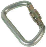 Yates 1772 Steel Modified D Screwgate Carabiner. Shop Now!
