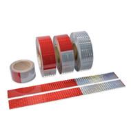 """Incom V5720WH White Conspicuity Dot C2 Reflective Tape (2"""" x 150')"""