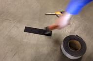INCOM Black Resilient Slip-Resistant Tape