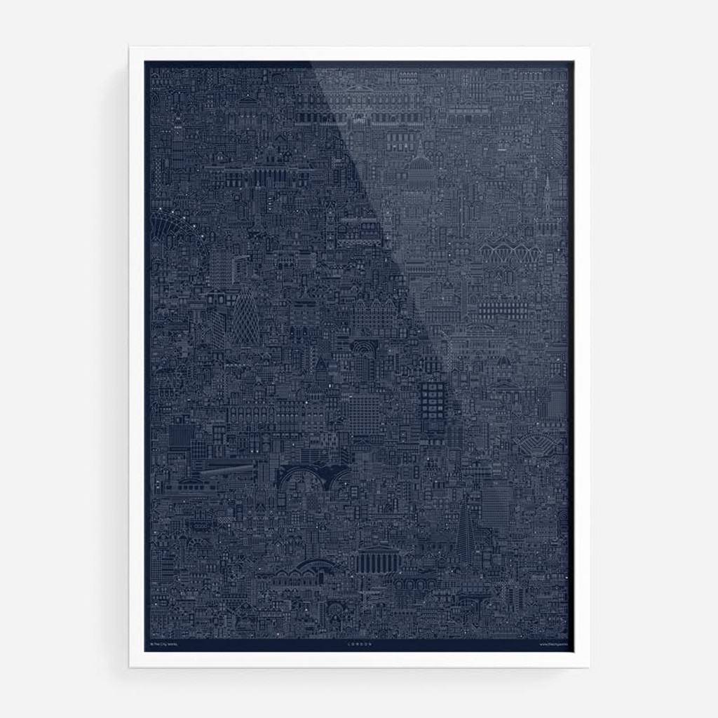 London Cityscape Blueprint