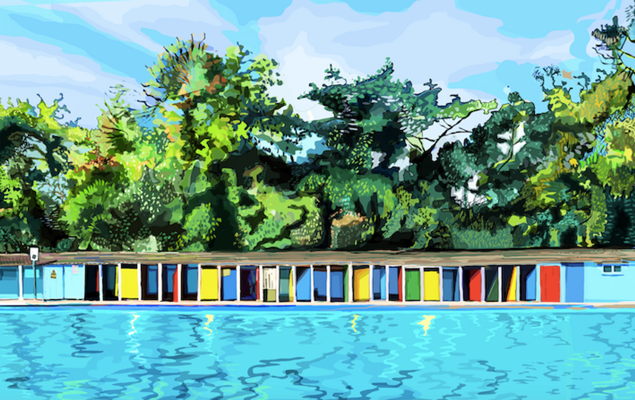Tooting Bec Lido by Tomartacus