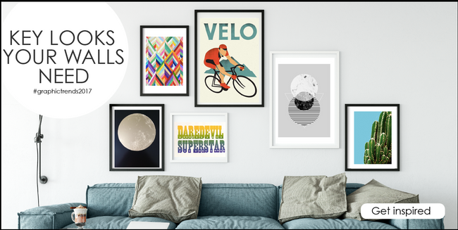 Key looks your walls need. Check out our favourite graphic trends for 2017