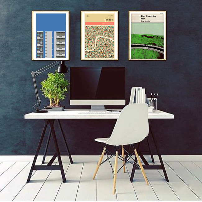 Awesome prints for creative workspaces