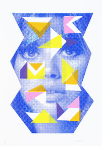 Blue- Limited Edition Print