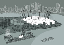 North Greenwich - Limited Edition Print