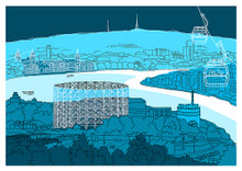 Greenwich - Limited Edition Print by Jane Smith