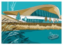 Aquatics Centre - Limited Edition Print