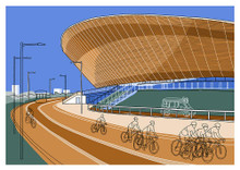 Velodrome 2 - Limited Edition Print