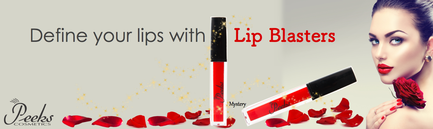 Define your lips with Lip Blasters