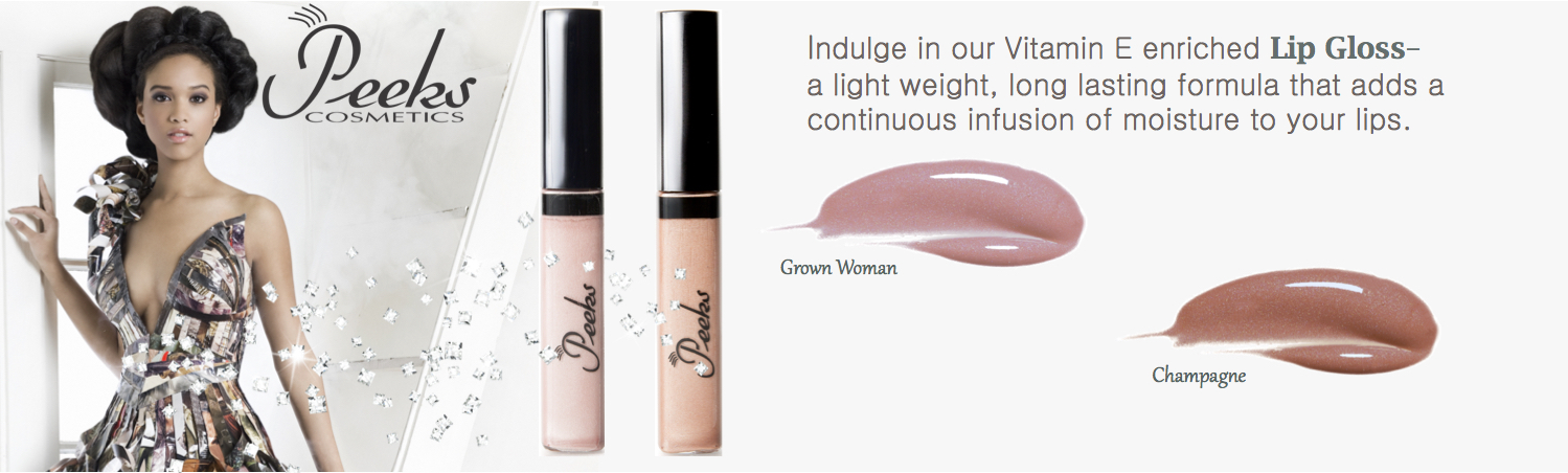 Indulge in our Vitamin E enriched Lip Gloss