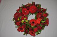 Ravishing red wreath