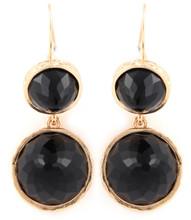 Earrings E 3161 GLD BLK