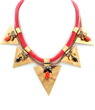 N 4843 GLD RED