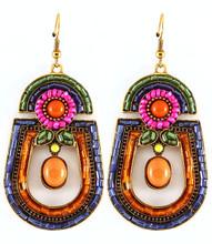 Earrings E 01153 GLD MLT