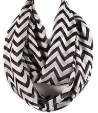 Scarf S 3322 BLK
