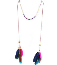Necklace N 15464 GLD MLTI
