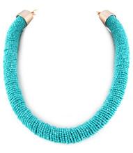 Necklace N 15609 GLD TRQ
