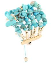 Bracelet B 15397 GLD TRQ