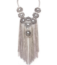 Necklace N 0564 SLV WHT