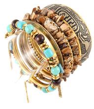 Bracelet B 15531 GLD TRQ