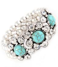 Bracelet B 300014 SLV CLR