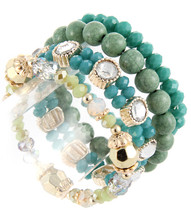 Bracelet B 15118 GLD JAD