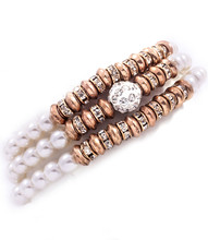 Bracelet B 6988 GLD CRM