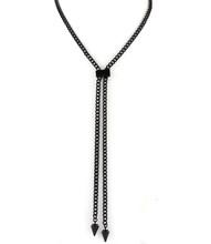 Necklace N 12113 BLK