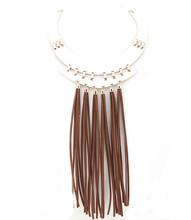 Necklace N 50100 GLD BRN