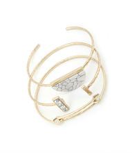 Bracelet  B 0955 GLD WHT