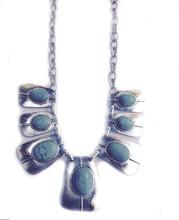 Necklace  N 136 SLV TURQ