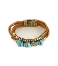 Bracelet  B 0374 GLD TURQ