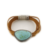 Bracelet  B 0370 SLV TURQ