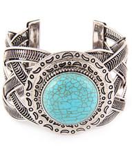 Bracelet  B 600001 SLV TURQ